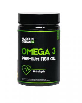 Fish Oil OMEGA-3 (90 капсул)